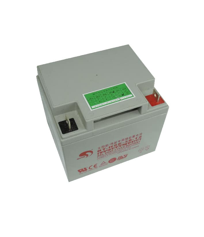 Rechargeable Battery 12v 38ah Gel Cell Deep Cycle Battery