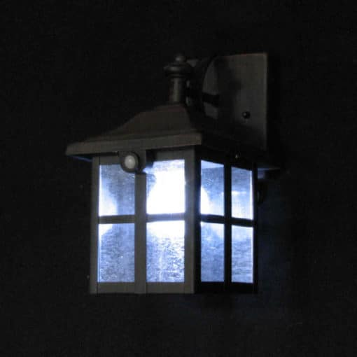 Buy solar wall lantern online today. BlackFrog Solar are a leading supplier of quality solar wall lights.
