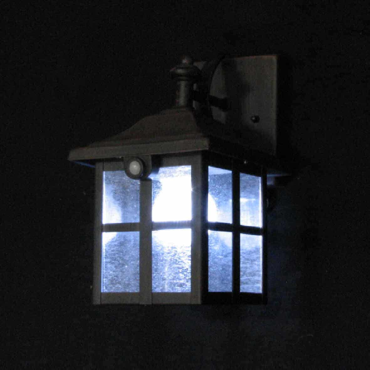 Wall Mounted Solar Spot Lights : Solar Wall Lantern: Coach - BlackFrog Solar