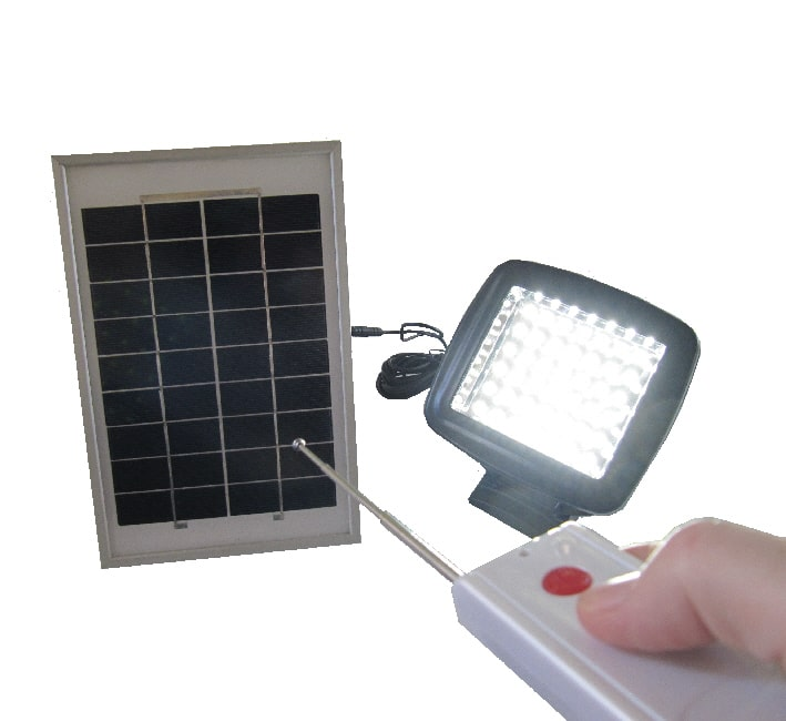 Solar Led Flood Lights With Remote Control Capricorn