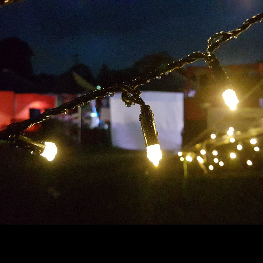 Solar Fairy Lights Twilight Warm White 200 Leds With