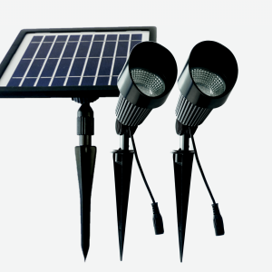 Buy high quality cast aluminium and glass solar garden spot lights online today. BlackFrog Solar are a leading supplier of quality solar garden lighting
