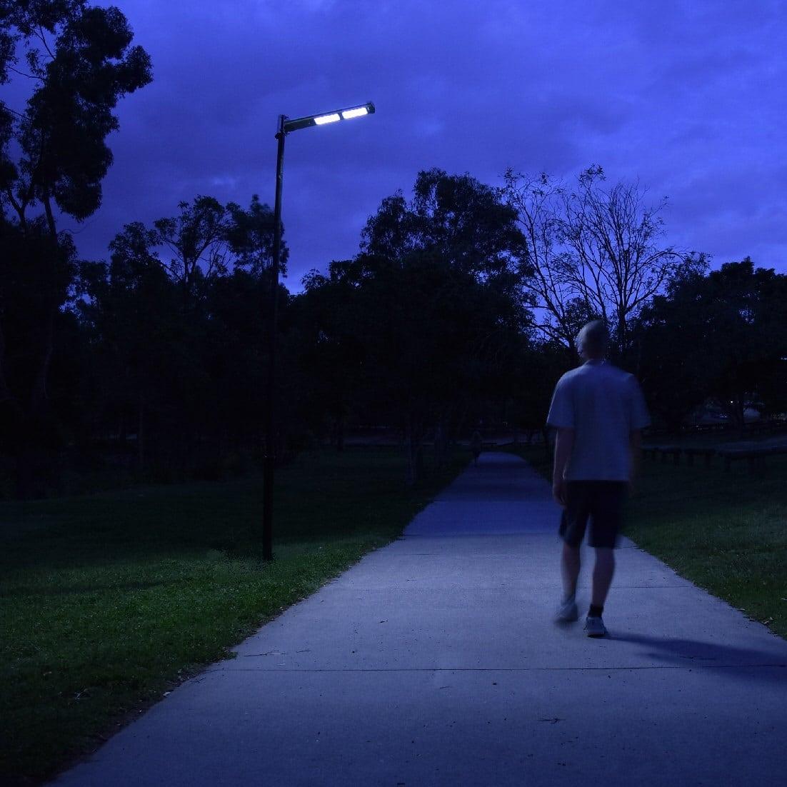 Solar Street Light Trafalgar20 Blackfrog Solar