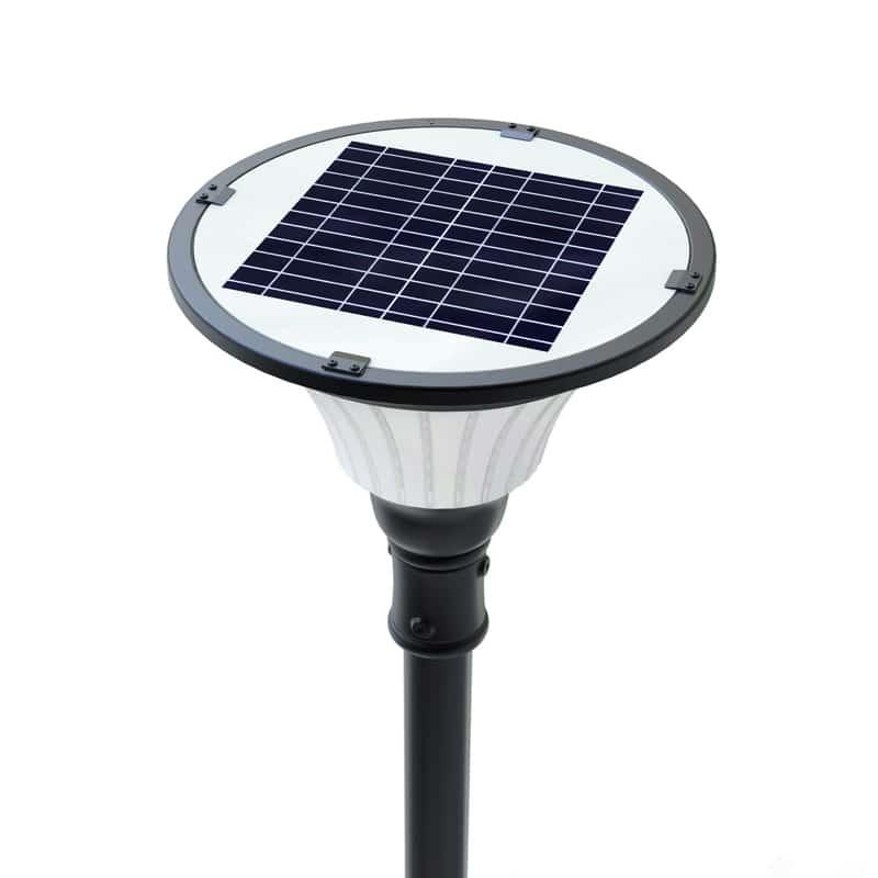 Solar Post Light: Manchester10 Post Lamp