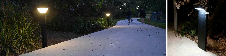 Solar Bollard Lights Blackfrog Solar