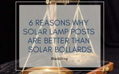 6 Reasons why solar lamp posts are better than solar bollards
