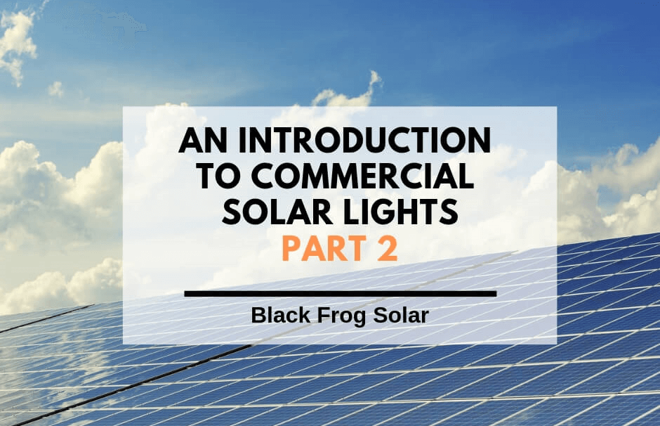 commercial solar lights part 2