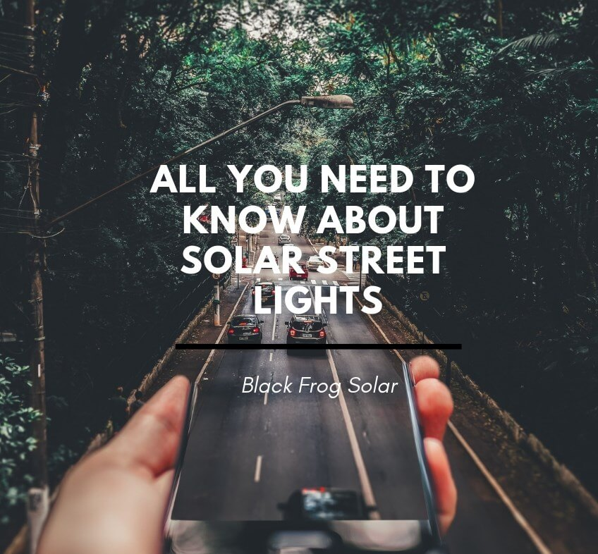 all you need to know about solar street lights