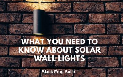 What you need to know about solar wall lights