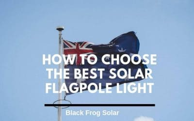 How to choose the best solar flagpole light