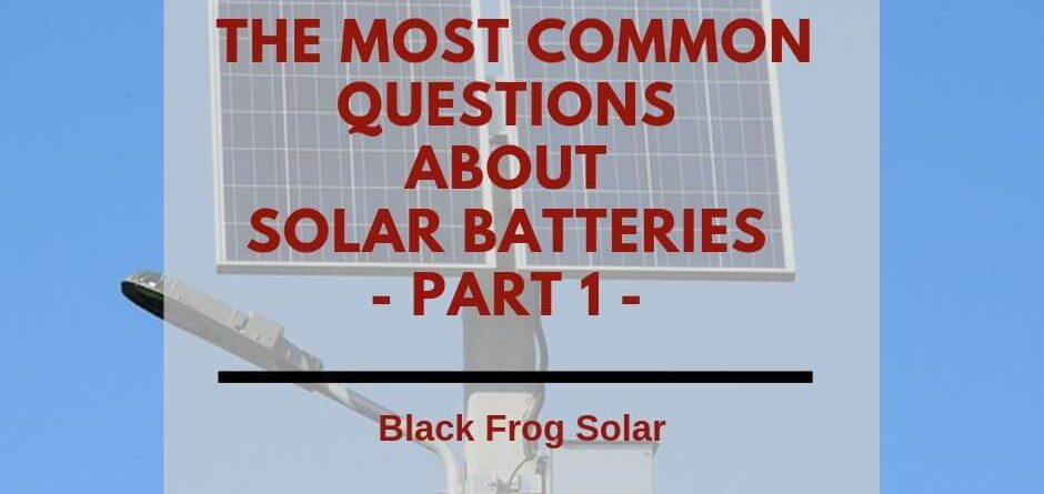 solar batteries part one