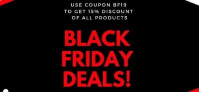 BlackFrog Black Friday Deals