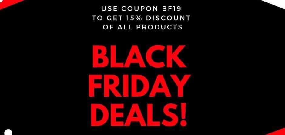BlackFrog Black Friday Deals