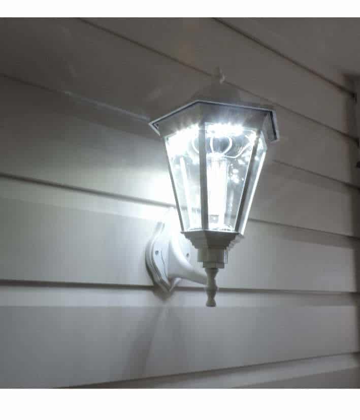 Solar Coach Light Simpson White Blackfrog Solar