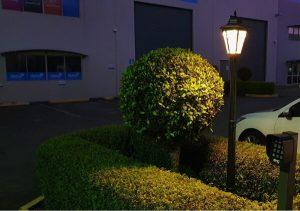 Simpson Solar Post Cap Lamp Black