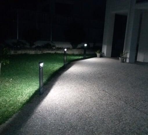 Solar Led Pillar Light driveway