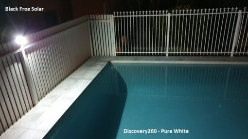 Discovery260 Pure white night