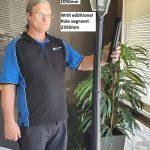 Simpson Solar Post Lamp height