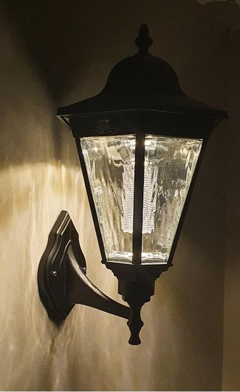 Simpson Solar Wall Lamp image